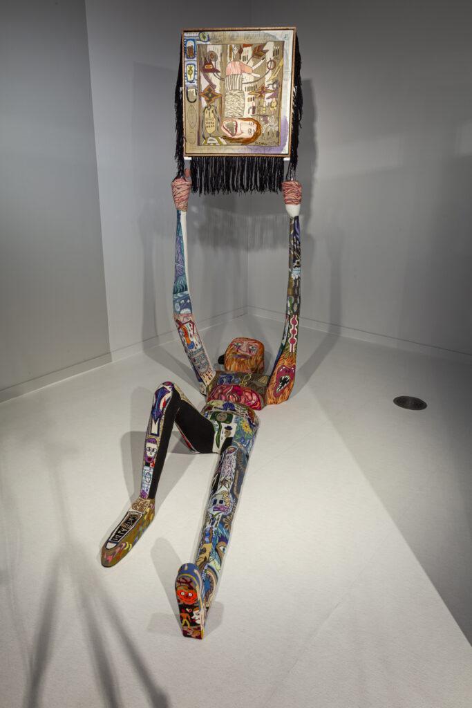 Klaas Rommelaere Dark Uncles Texture Kortrijk installation - Brecht