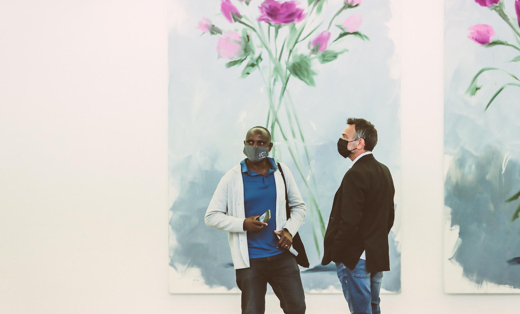 Gregory Forstner 'Des fleurs pour les audacieux' 2021 at FRAC, Montpellier Opening Event