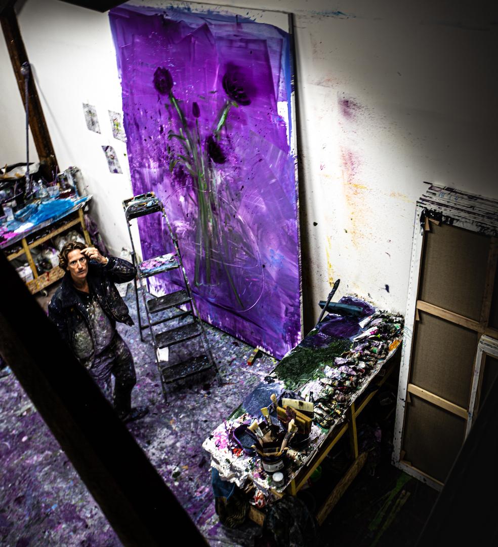 Studio Visit with Gregory Forstner and Francine Kreiss