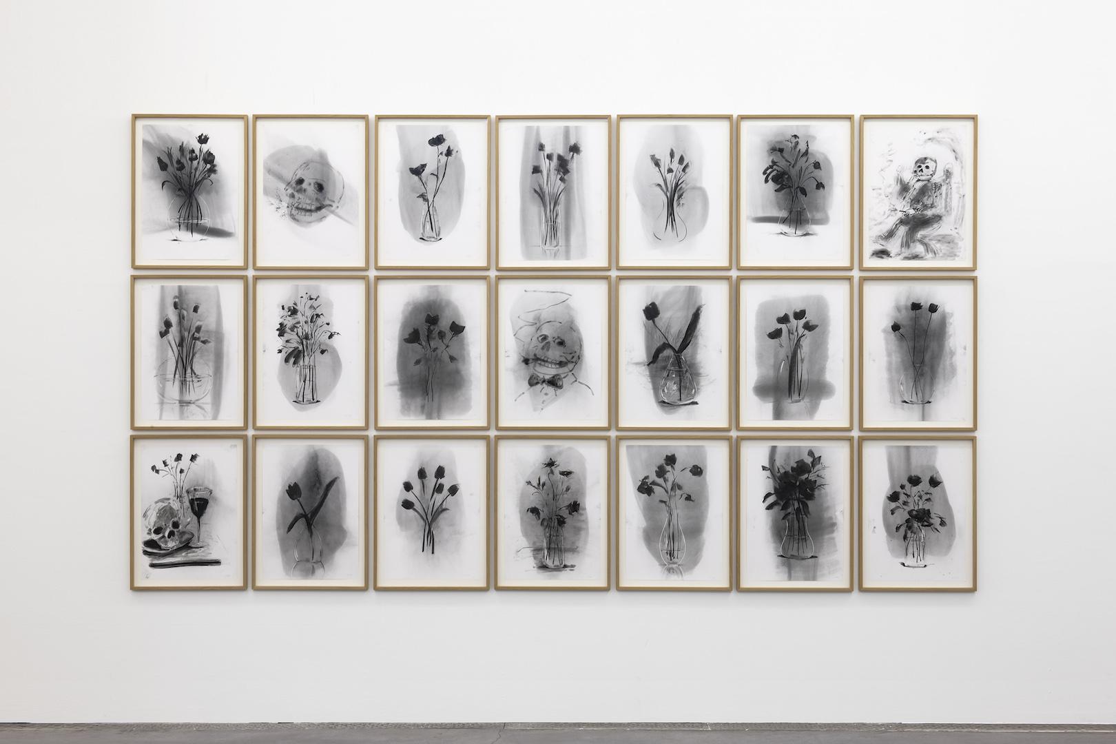 Gregory Forstner 'Des fleurs pour les audacieux' 2021 at FRAC, Montpellier Installation View