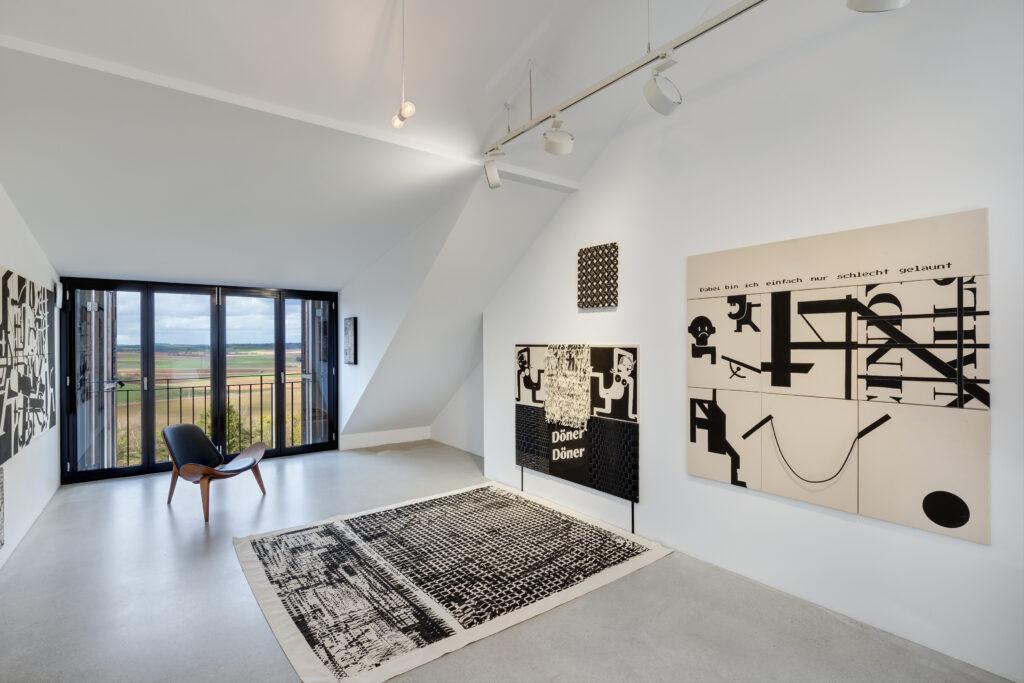 Jana Gunstheimer artist studio Galerie Zink