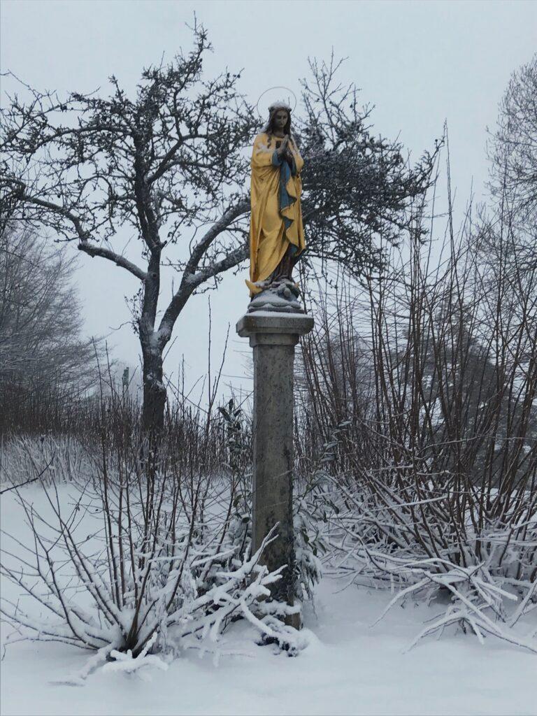 Waldkirchen in the snow
