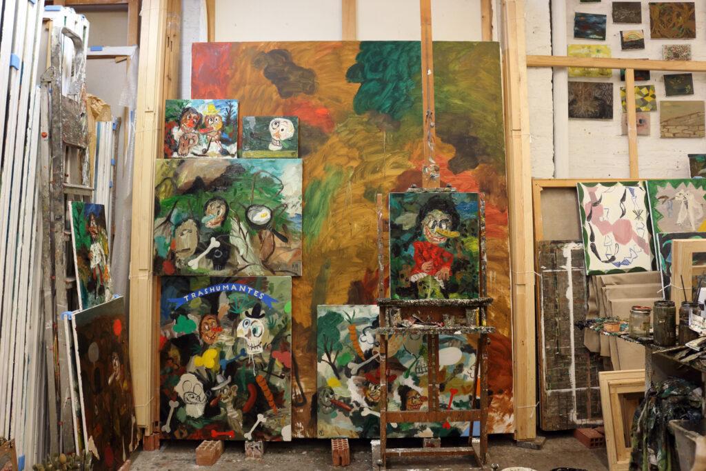 Matias Sanchez Studio in Seville, Spain