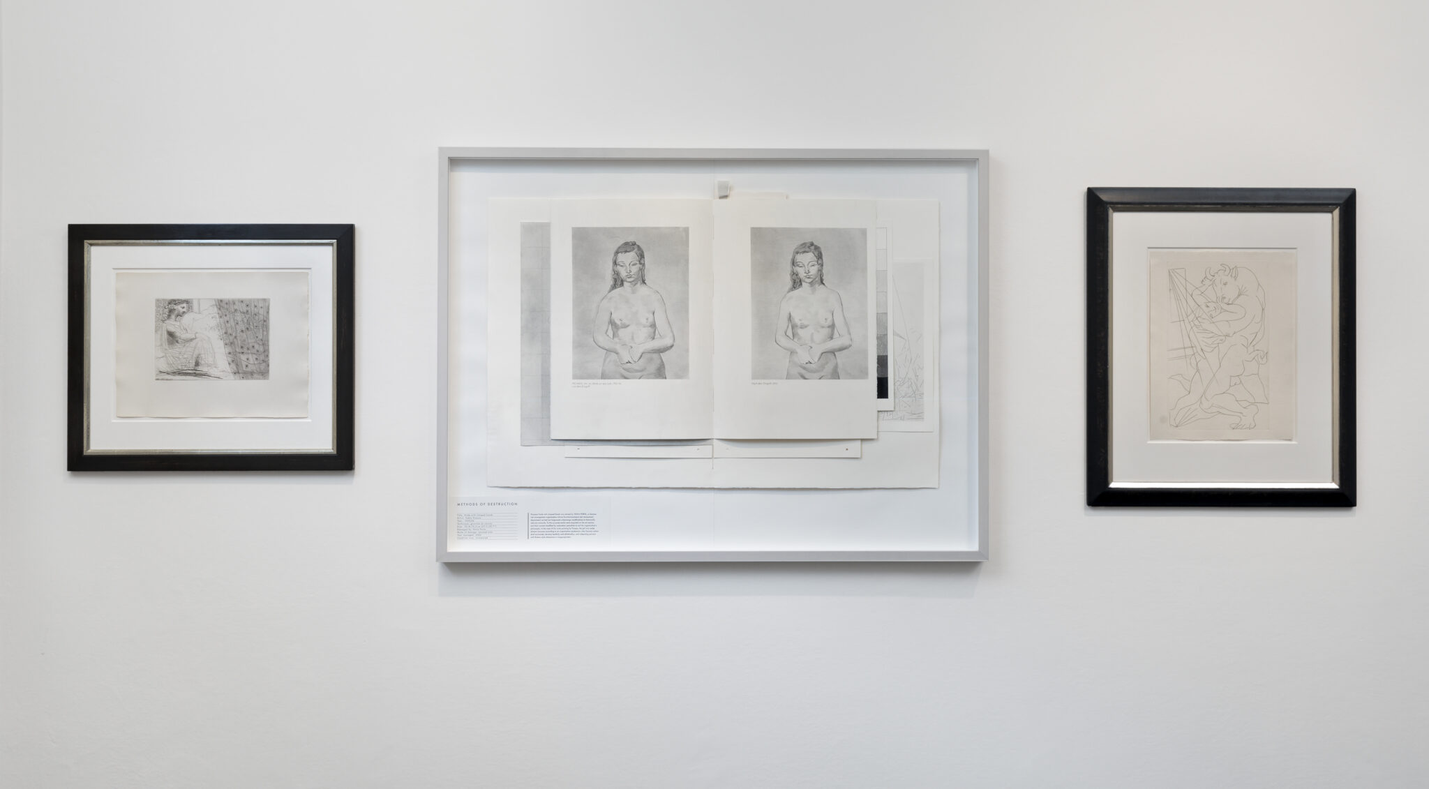 Jana Gunstheimer and Picasso prints at Artcurial Germany