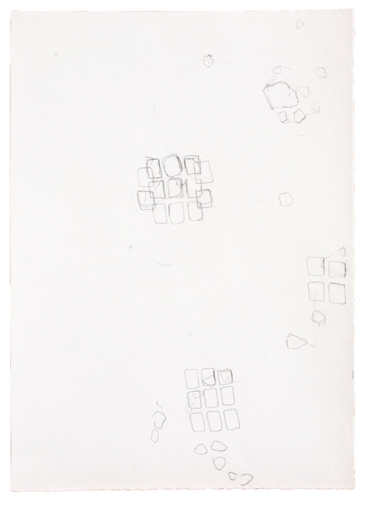 German Stegmaier untitled, 2020 Pencil on paper