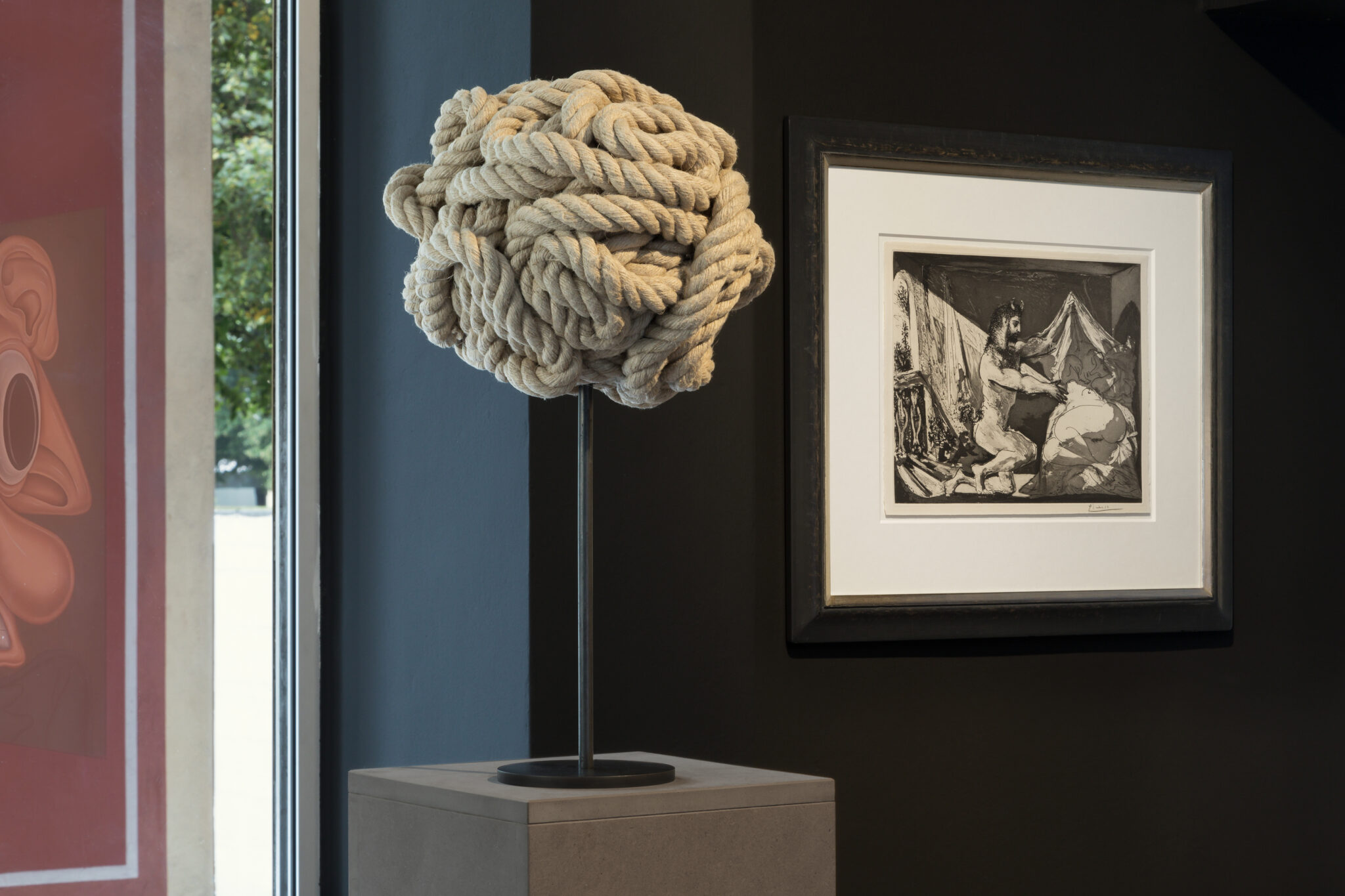 Michael Sailstorfer and Picasso print at Artcurial Germany