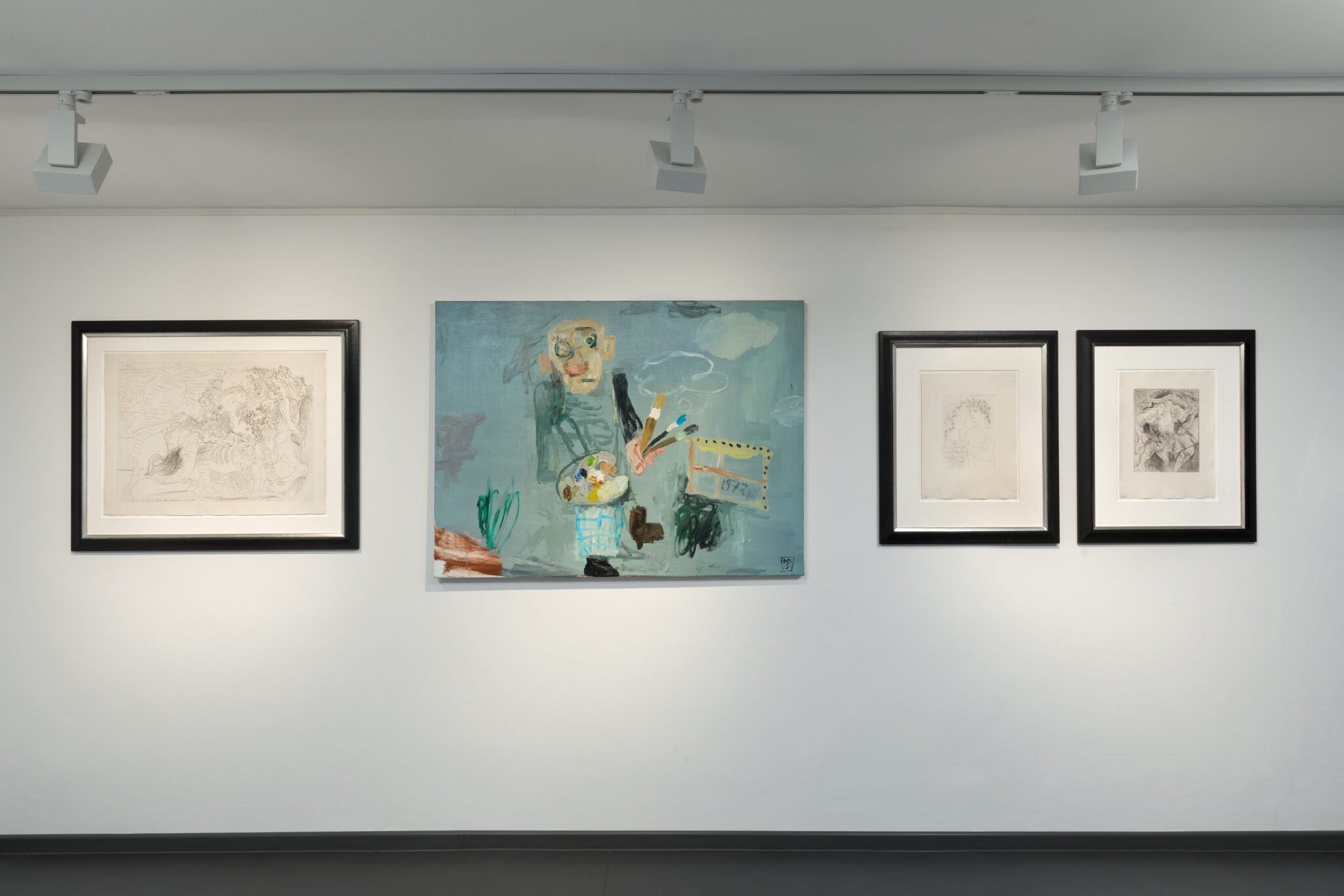 Matias Sanchez and Picasso prints at Artcurial Germany